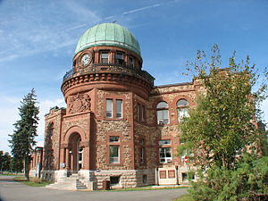 Dominion Observatory - The Dominion Observatory building
