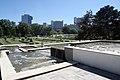 Donaupark Wien Kaskaden beim Rosengarten 2017 (5) Vienna International Centre.jpg