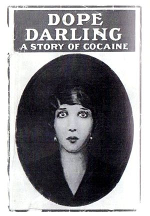 David Garnett - The cover of Dope-Darling: A Story of Cocaine.