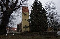 Dorfkirche Merzdorf Baruth Mark.jpg