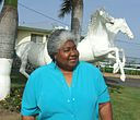 Dorothy Moore with horses.jpg