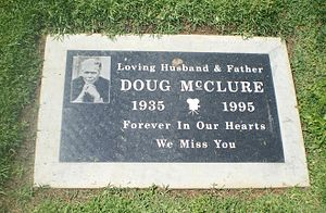 Woodlawn Memorial Cemetery, Santa Monica - Doug McClure Grave
