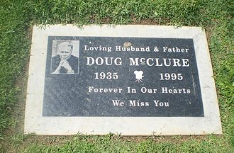 Doug McClure - Doug McClure's gravestone