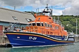 Dover Lifeboat Station - RNLB City of London (ON 1220)