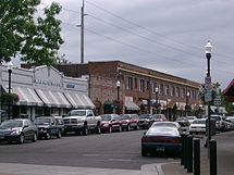 Downtown Beaverton, along Broadway
