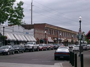 National Register of Historic Places listings in Washington County, Oregon - Image: Downtown Beaverton Oregon
