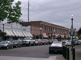 National Register of Historic Places listings in Washington County, Oregon - Image: Downtown Beaverton Oregon