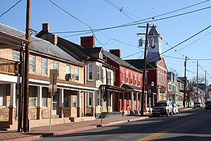 Boonsboro, Maryland - Downtown Boonsboro