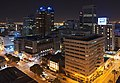 Downtown Cape Town at night from roof of Strand South hotel.jpg