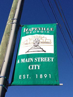 Hapeville, Georgia - Image: Downtown Hapeville, Georgia 3