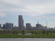 Downtown Omaha Skyline 2010