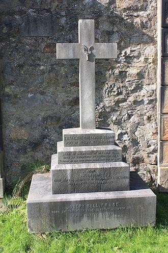 Joseph Bell - Dr Joseph Bell's grave, Dean Cemetery