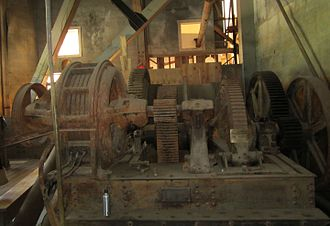 """Dredge No. 4 - The electric motor was maintained by the """"oiler"""""""