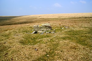 Kistvaen - Kistvaen on the southern edge of Dartmoor in Drizzlecombe