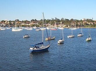 Parramatta River - Image: Drummoyne Parramatta River