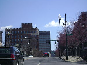 Downtown Asheville is a major attraction for t...