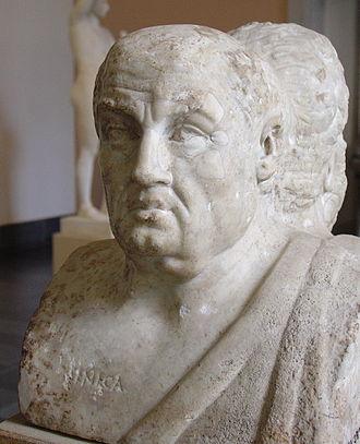Stoicism - Bust of Seneca