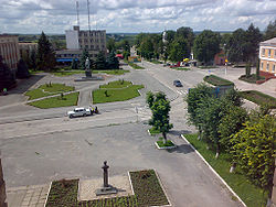 Dunaivtsi city center