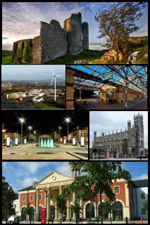 Dundalk Town in Leinster, Ireland