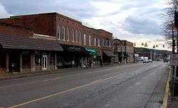 Rankin Avenue (US-127) in Dunlap