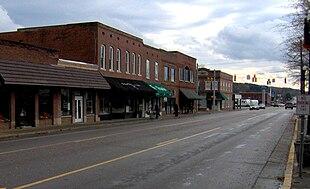Rankin Avenue (US-127) in Dunlap