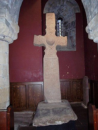 Causantín mac Fergusa - Image: Dupplin Cross, St Serfs Church