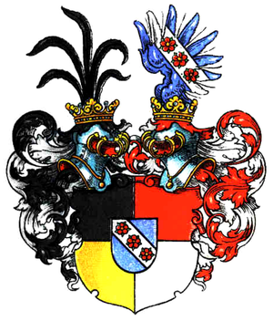 House of Dyhrn - Arms of the Barons of Dyhrn