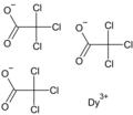 Dysprosium trichloroacetate.png