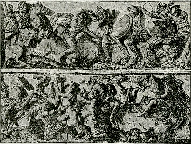 EB1911 Greek Art - Battle of The Granicus - Sarcophagus from Sidon.jpg