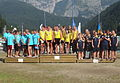 ECA Dragon Boat European Championships 2015 Medal Ceremony Small Boat Senior Men.JPG