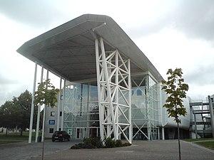 University of Poitiers - Image: ENSIP locaux école de face