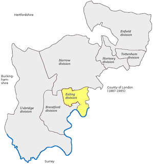 Ealing (UK Parliament constituency) Parliamentary constituency in the United Kingdom, 1885-1945