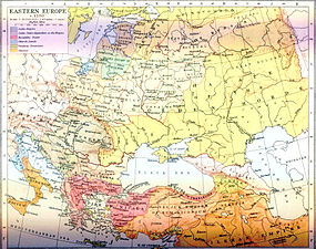 Eastern Europe around 1250