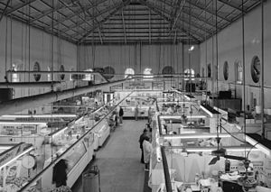 Eastern Market, Washington, D.C. - Interior of Eastern Market