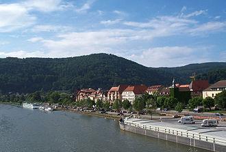 Rhein-Neckar-Kreis - Image: Eberbach Neckar 2001