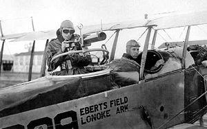 Eberts Field - Gunnery training at Eberts Field, 1918