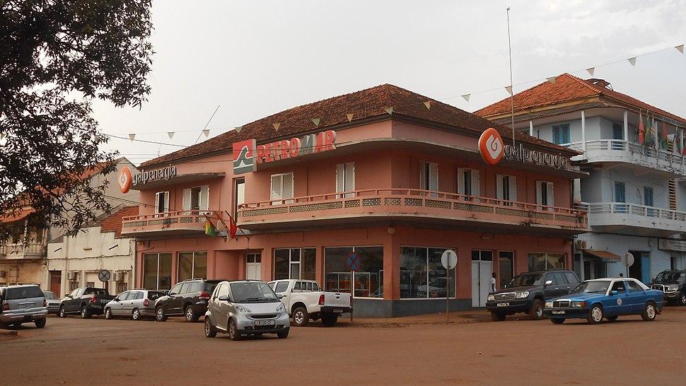 Edifício da Galp em Bissau