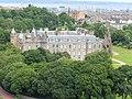 Edinburgh Holyrood Palace from Holyrood Park 03.JPG