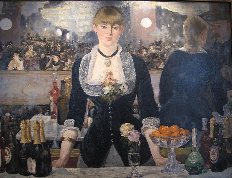A Bar At The Folies Bergere Manet File:Edouard manet, al...