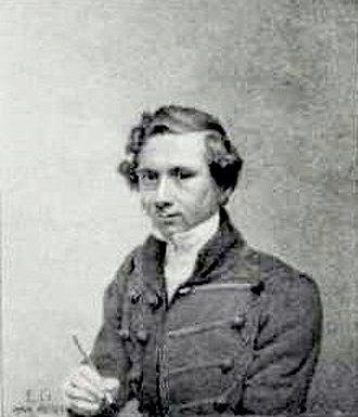 Eduard Gaertner - Eduard Gaertner, Self-portrait (1829)