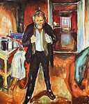 Edvard Munch - Sleepless Night. Self-Portrait in Inner Turmoil (1920).jpg