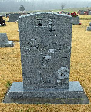 Edward Capehart O'Kelley - O'Kelley Memorial - Back