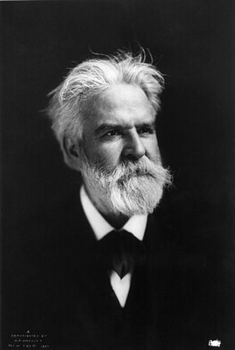 Edwin Markham - A photograph of Markham in his later years