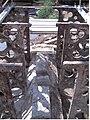 Eglinton Tournament Bridge construction details of pier.jpg