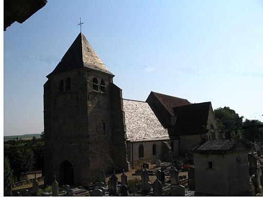 Eglise Avant les Marcilly