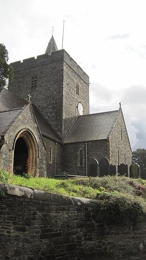 Llanbadarn Fawr, Ceredigion - Image: Egwys Llanbadarn Fawr, Abersytwyth