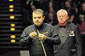 Eirian Williams and Rod Lawler at Snooker German Masters (Martin Rulsch) 2014-02-01 01.jpg