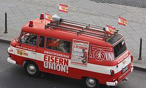 Stadion An der Alten Försterei - Unions heritage bus