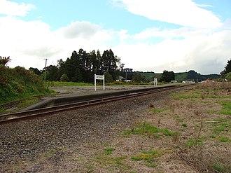 Eketahuna railway station - Image: Eketahuna railway station 01