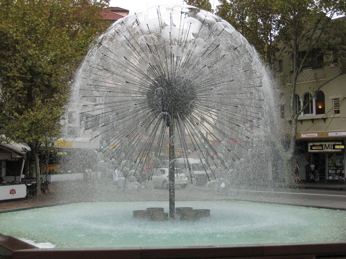 El alamein fountain wikipedia for Garden water features adelaide